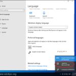 FIX: Cannot Remove Keyboard Language in Windows 10