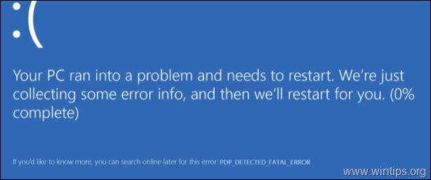FIX: PNP_DETECTED_FATAL_ERROR