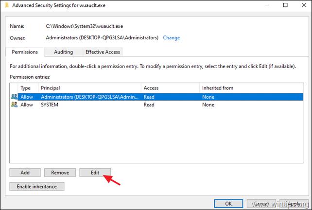 FIX: Windows Update page Empty